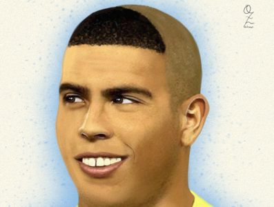 Ronaldo Art mexico color art digitalart drawing ozgaleano arte fanart dibujo brasil ronaldo