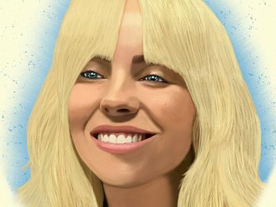 Billie Eilish illustration design art digitalart drawing ozgaleano fanart arte dibujo music billie eilish