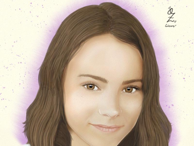 Connie Moll digitalart fanart color portrait retrato drawing ozgaleano dibujo arte chile conniemoll