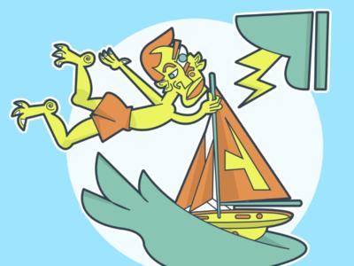 Sailing On