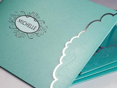 Michelle Sparkling Brochure Cover