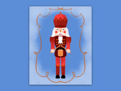 Getty nutty with nutcrackers man winter festive drums procreate holiday nuts christmas illustration nutcracker