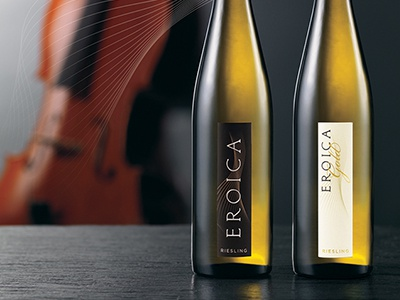 Eroica Wine Packaging packaging symphony riesling wine beethoven eroica