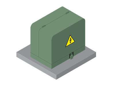 Isometric transformer