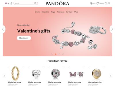 Pandora concept redesign