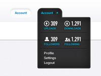 Account Dropdown