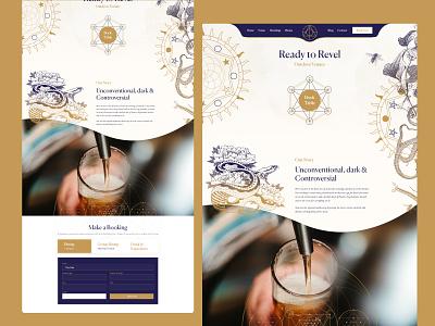 Ready To Revel redesign website 3d ui