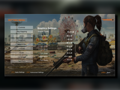 Game Setting Menu