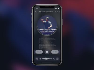 Music Player Interface
