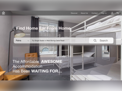 Landing Page For Hostel