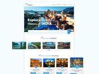 Landing Page Hotel Website