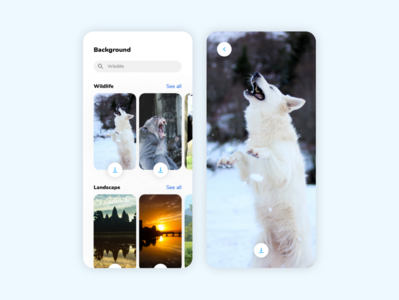 DailyUI 059 Background 059 59 photo backgrounds background design mobile daily 100 challenge application ui dailyui daily ui