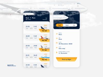 DailyUI 068 Flight search dailyui 068 flight booking flight search flight app search flight design mobile daily 100 challenge application ui dailyui daily ui
