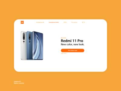 DailyUI 075 Pre order release phone pre-order preorder desktop design daily 100 challenge application ui dailyui daily ui