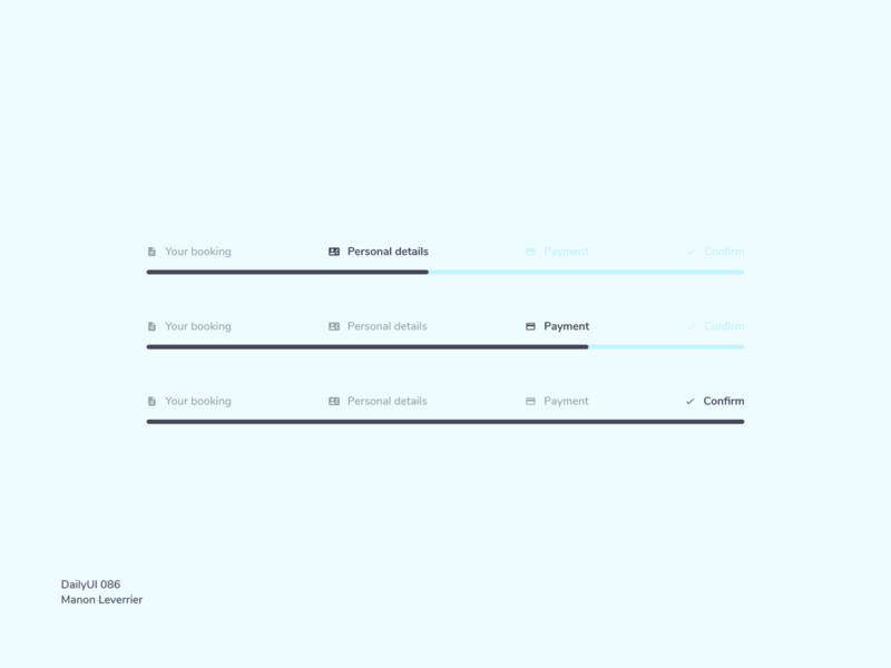 DailyUI 086 Progress bar 086 86 daily ui 86 dailyui 086 progressbar progress bar progress menu desktop design mobile daily 100 challenge application ui dailyui daily ui