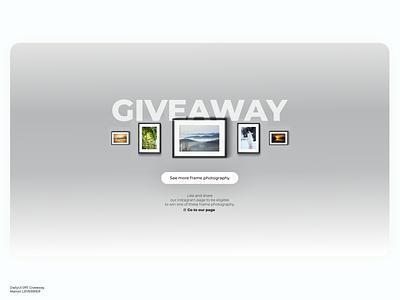 DailyUI 097 Giveaway daily dailyui 097 giveaways giveaway dailyuichallenge desktop design daily 100 challenge application ui dailyui daily ui