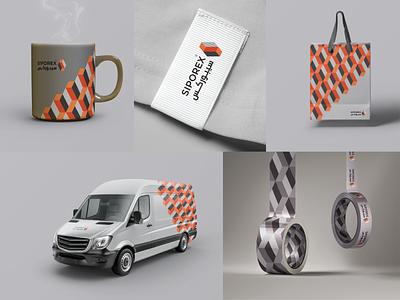 siporex 02 visual identity brand identity brand design typography arabic logo mark design branding
