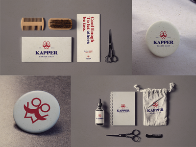 kapper 02 logodesign logotype icon design minimal visual identity mark logo brand identity brand design branding