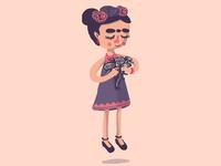 Cute little Frida