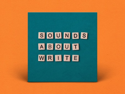 Podcast Cover — Sounds About Write