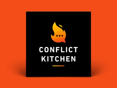 Podcast Cover — Conflict Kitchen