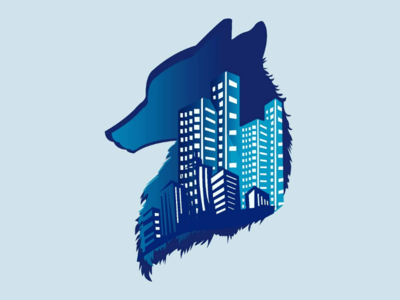 City Fox logo logo logoinspiration cityfox