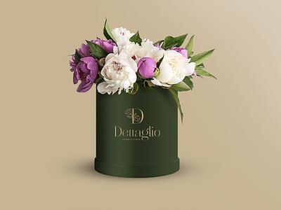 Dettaglio brand logo flower