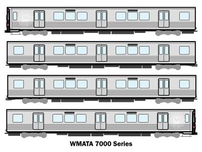 WMATA 7000 Series