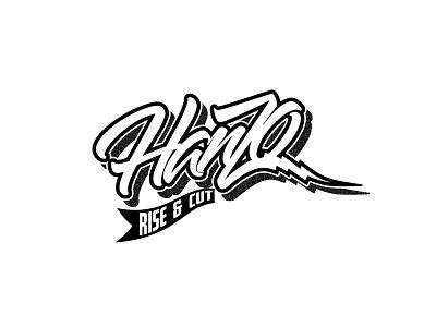 Hanzo | Rise & Cut  type design typography hanzo