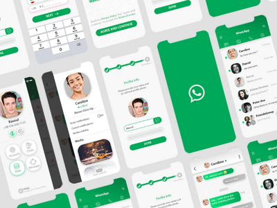 Redesign of WhatsApp whatsapp  redesign  application