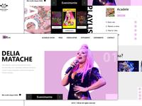 Landing Page - Delia Matache, Romanian Singer
