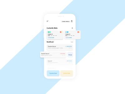 Minimalist Banking App