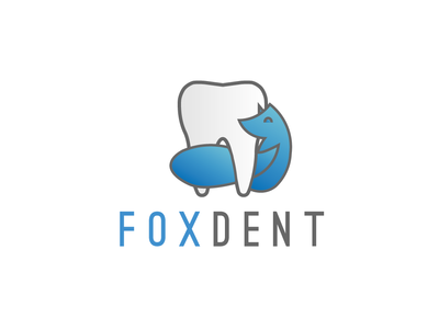 Foxdent logo (unused, for sale)