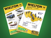 Wielton flyer with semitrailers