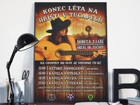 SK Tučapy poster with country event