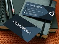 Poznej-Sebe business card