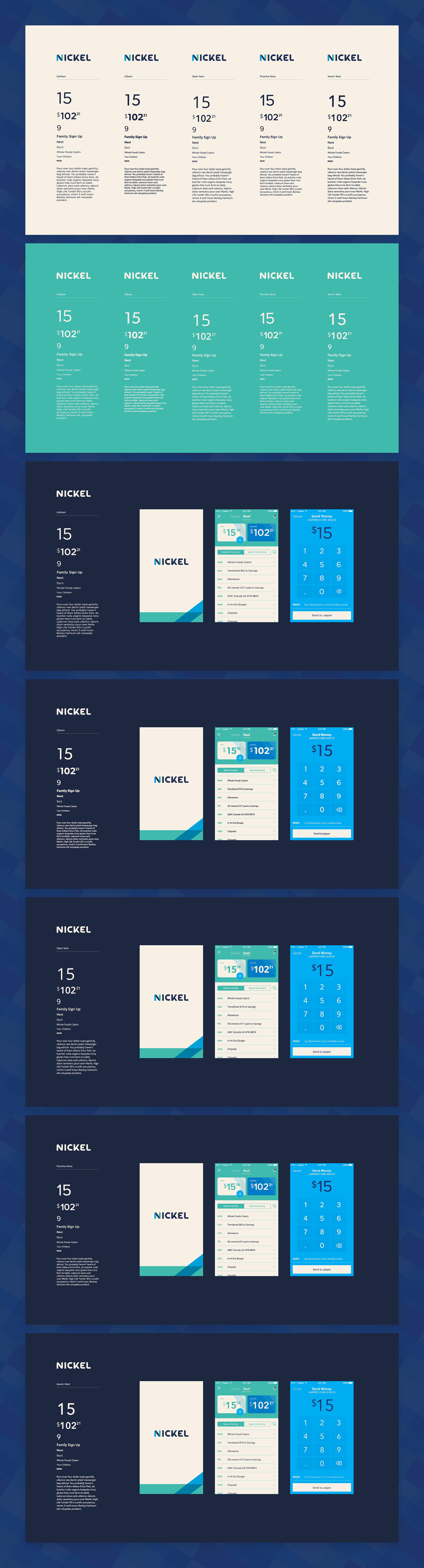 Font book spread