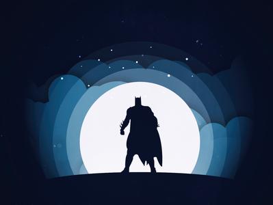 Batman! dailypractice batman digital illustration digitalart graphicdesign graphic illustration