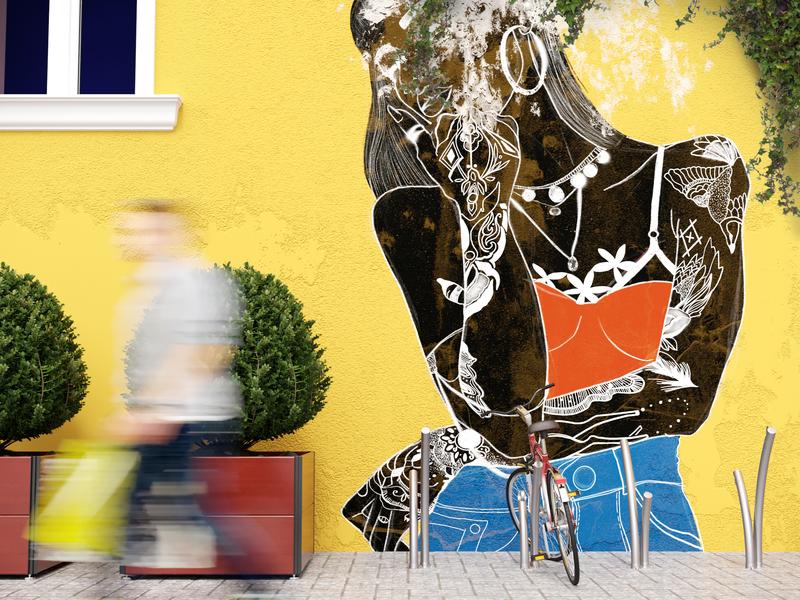 Graffiti Avenue procreate 3dartists design illustration v-ray coronarender vray corona corona renderer 3dsmax