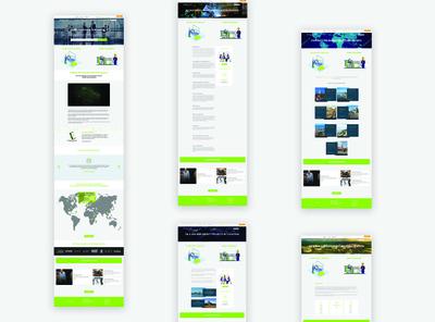Consultancy website redesign