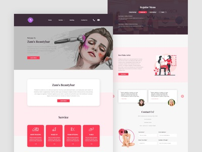 Beauty Parlor Web design care spa 	beauty salon portfolio multipurpose medical template hospitals health website template fashion doctors clinic