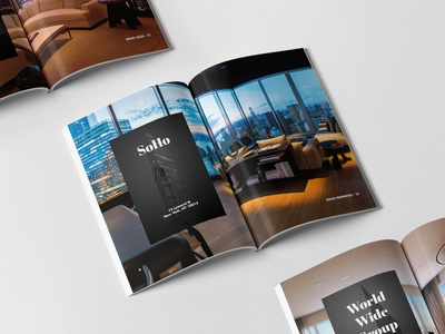 Unreal. Estate Book. interior lightboxes real estate book design editorial design print design