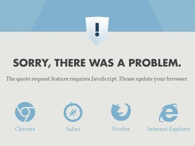 Metropolis error