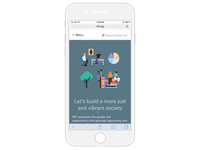 Nonprofit Finance Fund – Responsive Design Mobile Part #1