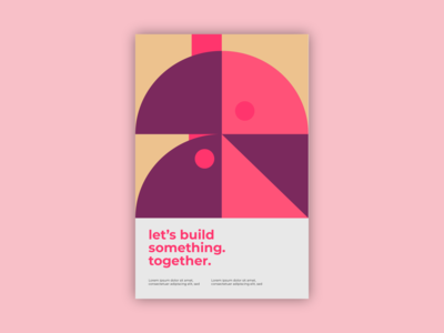 let's build something 3