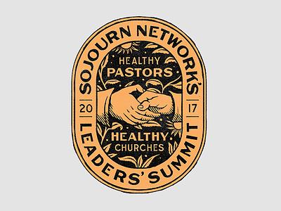 Leaders' Summit branding illustration