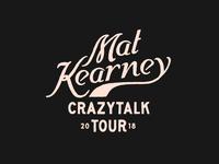 Mat Kearney Tour