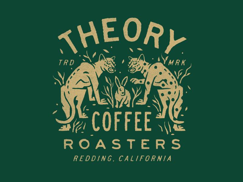 Theory Coffee Roasters illustration t-shirt coffee