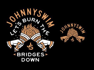 JSWM T illustration apparel merch