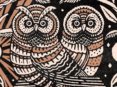 Owlzzzz owl illustration